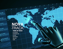 Rebrand and guidelines of Nova Track