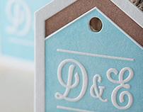 Wedding Invitation D&E