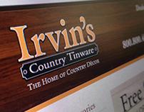 Irvin's | Interactive Designs