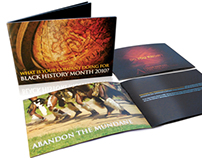 African Ancestry Black History Month Brochure