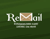 ReMail - Recyclable envelopes, sorted as paper