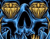 skulls diamond