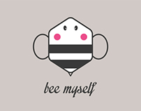 Bee Myself - Tshirt for Threadless and dribbble playoff