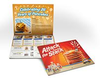 2013 Calendar for De Wafelbakkers Pancakes