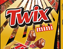 Emlagem Twix mini