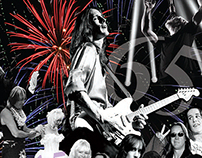 Program for Todd Rundgren's 65th Birthday Fireworks