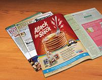 De Wafelbakkers Pancakes B2B ad