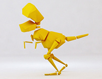 Yellow Cartoon