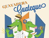 Guayabera Guateque Poster Design