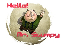 Mr. Stumpy. Some old work i've been doing back in 2012