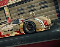 Audi Le Mans Tribute