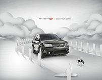 Dodge Journey - Reduce el peligro al mínimo.