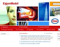 ExxonMobil Website