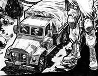 Behind the Wheel; Inks