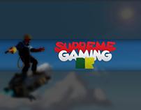 Visual Identity of Supreme Gaming BR