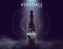 Beck's Resistance Beer Packaging
