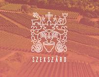Szekszárd wine association design
