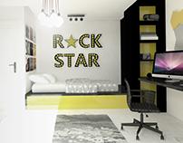 modern teenage room / pokój nowoczesnego nastolatka