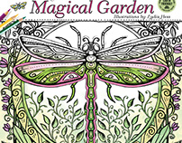 Magical Garden Coloring Calendar - 2018