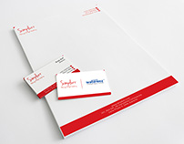 """Visiting Card and Letterhead for """"simplurr"""""""