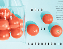 Transgenic food... The menu of laboratory