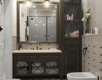 Bathroom in Yalta , design by Vitta-group studio