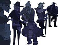 """Comic """"Un Regalo Extraordinario"""" - Characters & Pages"""