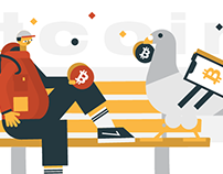Bitcoin illustrations