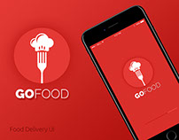 GoFood - Delivery App Concept