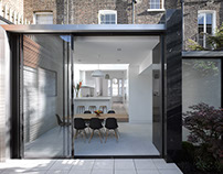 House in Islington. Paul Archer Design
