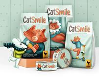 Cat Smile. Cat food line concept
