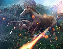 Horses - Photoshop Creative Magazine