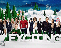 NBC Holiday Greetings | Branding & Promotions