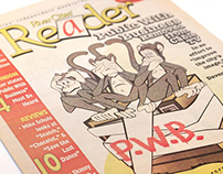ILLUSTRATION: River Cities' Reader - covers & editorial