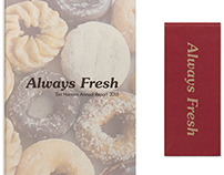 Tim Hortons Annual Report: Always Fresh