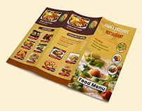 Restaurant or Food Menu, Board Menu & Digital Menu