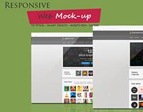Responsive Screen Mock-up