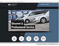 W A Chauffeurs- WEBSITE DESIGNING