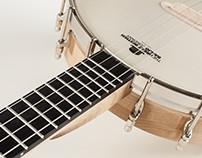 Custom 21 Fret Tenor Banjo