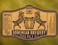 Bohemian Brewery Logo & Label