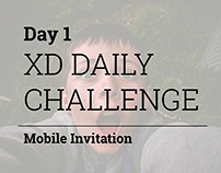 XD Daily Creative Challenge Event Web Page