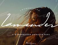 Lamender - FREE HANDWRITTEN FONT