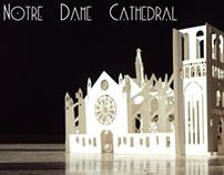 Pop up 3D  Notre-Dame Cathedral | كاتدرائية نوتردام