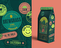 CBD Coffee - Branding & Packaging