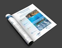publicité dans magazine
