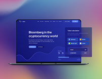 ICONinja- ICO, Blockchain & Cryptocurrency Landing Page