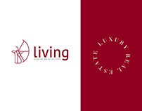 Living - Rebranding: strategy, identity, web, print +