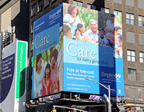 Empire HP - Times Square Billboard - 2016 OOH Campaign