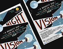 Siklab 2013: Night Vision Poster