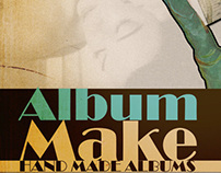 Retro Ads for Albumake.gr